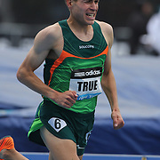 Ben True, USA, in action during the Men's 5000m race at  the Diamond League Adidas Grand Prix at Icahn Stadium, Randall's Island, Manhattan, New York, USA. 25th May 2013. Photo Tim Clayton