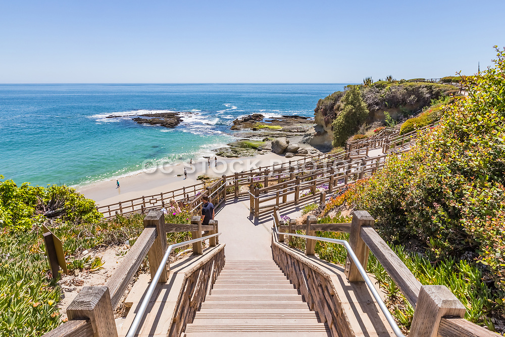 Steps from the Montage Resort to Treasure Island Beach