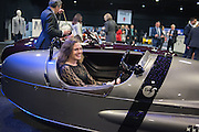 EMILY DESPOIS, Preview for The London Motor Show, Battersea Evolution. London. 5 May 2016