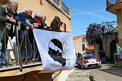 April 7, 2018 - Corse, France - CORSICA Linea - TOUR DE CORSE 2018 sapekka LAPPI, Janne FERM TOYOTA YARIS WRC (Credit Image: © Panoramic via ZUMA Press)