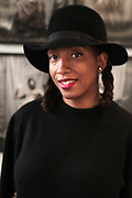 April 8, 2018-New York, New York-United States: Photographic Artist Ayana V. Jackson attends the Photography Show presented by AIPAD held at Pier 94 on April 8, 2018 in New York City. The Photography Show, held at Pier 94, is the longest-running and foremost exhibition dedicated to the photographic medium, offering contemporary, modern, and 19th century photographs as wells photo-based art, video and new media.(Photo by Terrence Jennings/terrencejennings.com)