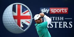 Jordan Smith during day two of the British Masters at Walton Heath Golf Club, Surrey.