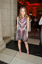 ROSIE FORTESCUE at the Revlon Choose Love Masquerade Ball held at the V&A Museum, Cromwell Road, London on 21st July 2016.