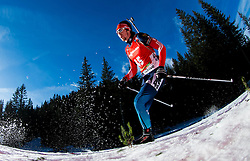 LAPSHIN Timofey (RUS) competes during Men 12,5 km Pursuit at day 3 of IBU Biathlon World Cup 2014/2015 Pokljuka, on December 20, 2014 in Rudno polje, Pokljuka, Slovenia. Photo by Vid Ponikvar / Sportida