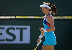 March 8, 2019 - Indian Wells, USA - Johanna Konta of Great Britain in action during her second-round match at the 2019 BNP Paribas Open WTA Premier Mandatory tennis tournament (Credit Image: © AFP7 via ZUMA Wire)
