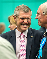 Lib Dem leader Willie Rennie at the Fife counts.<br /> <br /> © Dave Johnston/ EEm
