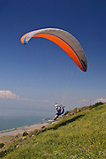 Israel, Golan Heights, paragliding