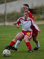 Madeleine Giske, Sandviken. Treningskamp: Team Strømmen - Sandviken 4-2. La Manga, Spania. La Manga 2004. 8. april 2004. (Foto: Peter Tubaas/Digitalsport).