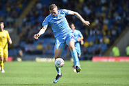 Coventry City midfielder Jordan Shipley (26) controls the ball during the EFL Sky Bet League 1 match between Oxford United and Coventry City at the Kassam Stadium, Oxford, England on 9 September 2018.