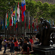 Rockefeller center. New York city.USA.