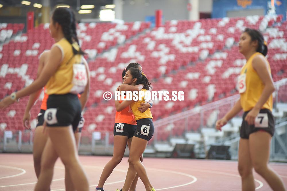 B Div 100m: Raine Oh of Singapore Sports School won gold in 12.67 seconds Story: https://www.redsports.sg/2017/05/03/b-c-div-100m-elizabeth-ann-tan/
