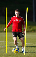 Zak Brunt of Sheffield Utd during the Press Conference & Training at the Steelphalt Academy, Sheffield. Picture date: 7th February 2020. Picture credit should read: Simon Bellis/Sportimage