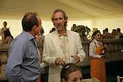 Mike Rutherford, Veuve Clicquot Gold Cup 2006. Final day. 23 July 2006. ONE TIME USE ONLY - DO NOT ARCHIVE  © Copyright Photograph by Dafydd Jones 66 Stockwell Park Rd. London SW9 0DA Tel 020 7733 0108 www.dafjones.com