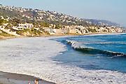 The Coastline of Laguna Beach