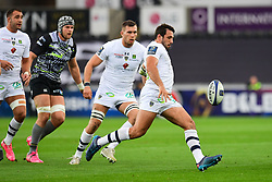 Clermont Auvergne's Camille Lopez in action  - Mandatory by-line: Craig Thomas/JMP - 15/10/2017 - RUGBY - Liberty Stadium - Swansea, Wales - Ospreys Rugby v Clermont Auvergne - European Rugby Champions Cup