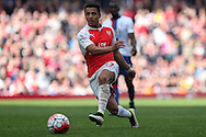 Alexis Sanchez of Arsenal in action. Barclays Premier league match, Arsenal v Crystal Palace at the Emirates Stadium in London on Sunday 17th April 2016.<br /> pic by John Patrick Fletcher, Andrew Orchard sports photography.