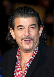 John Altman arrives for the Run For Your Wife - UK film premiere Odeon -Leicester Sq- London Brit comedy about a happily married man - with two wives, Tuesday  February 5, 2013. Photo: Andrew Parsons / i-Images