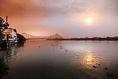 Hooghly River, Kolkata, India