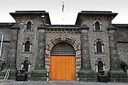 The main entrance to HMP Wandsworth, London, United Kingdom