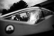 Graziano Delrio durante l'evento di lancio della piattaforma di sperimentazione droni all'aeroporto di Grottaglie. Taranto 15 marzo 2016. Christian Mantuano / OneShot<br /> <br /> Graziano Delrio during the presentation event for the drone  experimentation of Grottaglie airport. Taranto 15 March 2016. Christian Mantuano / OneShot