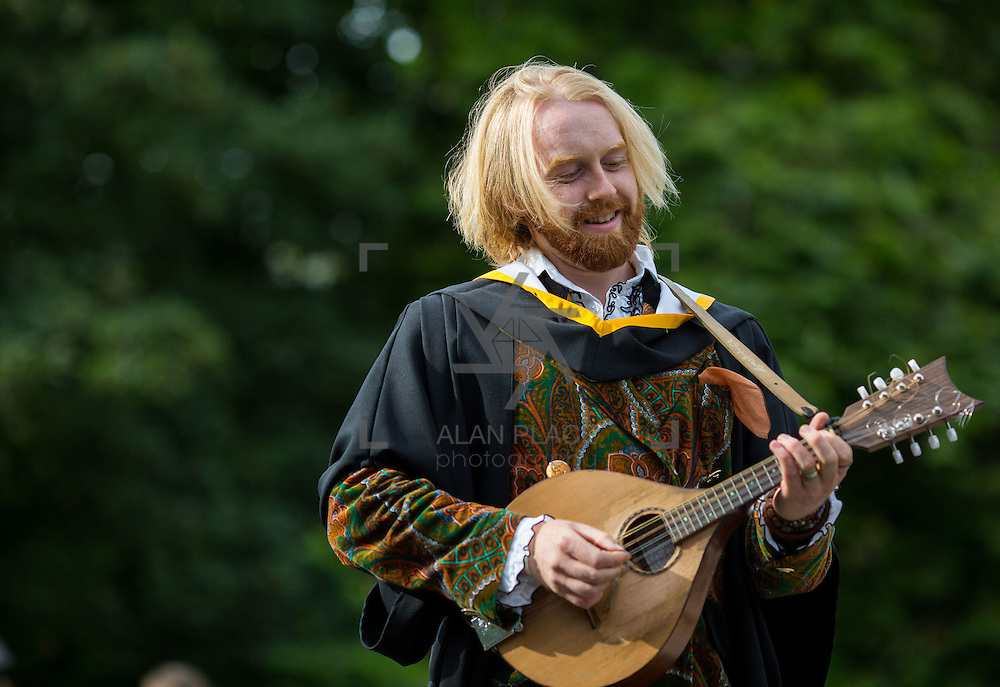 """23.08.2016        <br /> Over 300 students graduated from the Faculty of Arts, Humanities and Social Science at the University of Limerick today. <br /> <br /> Attending the conferring ceremony was Bachelor of Arts in Irish Music and Dance graduate, William Howard, Salthill, Co. Galway. William also received a Cooperative Education Award 2016. Picture: Alan Place.<br /> <br /> <br /> <br /> <br /> UL Graduates Employability remains consistently high as they are 14% more likely to be employed after Graduation than any other Irish University Graduate<br /> Each year, the Careers Service collects information about the 'First Destinations' of UL graduates. During the April/May period following graduation, we survey those who have completed full-time undergraduate and postgraduate courses for details on their current status. This current survey was conducted nine months after graduation and focuses on the employment and further study patterns of the graduates of 2015. A total of 2,933 graduates were surveyed and a response rate of 87% was achieved. <br /> As the University of Limerick commences four days of conferring ceremonies which will see 2568 students graduate, including 50 PhD graduates, UL President, Professor Don Barry highlighted the continued demand for UL graduates by employers; """"Traditionally UL's Graduate Employment figures trend well above the national average. Despite the challenging environment, UL's graduate employment rate for 2015 primary degree-holders is now 14% higher than the HEA's most recently-available national average figure which is 58% for 2014"""". The survey of UL's 2015 graduates showed that 92% are either employed or pursuing further study."""" Picture: Alan Place"""