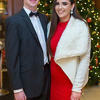 Ballyea's Junior player Sean Meaney and Niamh Howard