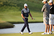 Graeme McDowell (NIR) striding around the last completing a round of 72 during (recommenced) Round One of the 2015 Alstom Open de France, played at Le Golf National, Saint-Quentin-En-Yvelines, Paris, France. /03/07/2015/. Picture: Golffile | David Lloyd<br /> <br /> All photos usage must carry mandatory copyright credit (© Golffile | David Lloyd)