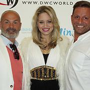 London,England,UK : 28th April 2016 : Julian Bennett,Kimberly Wyatt attend the Kimberly Wyatt launches the 2016 annual BLOCH Dance World Cup at BLOCH, 35 Drury Lane, Covent Garden, London. Photo by See Li