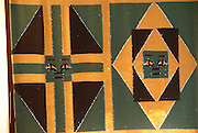 Ethiopia, Amhara Region Hand woven wall decoration