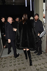 Bella Hadid arrives for the Michael Kors pop up store event in New York. 05 Feb 2019 Pictured: Bella Hadid, Michael Kors. Photo credit: Neil Warner/MEGA TheMegaAgency.com +1 888 505 6342
