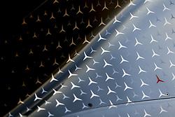 May 25, 2019 - Monte Carlo, Monaco - Motorsports: FIA Formula One World Championship 2019, Grand Prix of Monaco, ..A red star in honor of Niki Lauda (22.02.1949 - 20.05.2019) (Credit Image: © Hoch Zwei via ZUMA Wire)