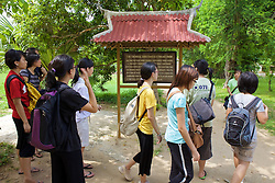 Singapore Students Tour Choeung Ek