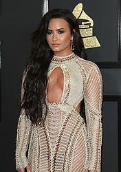 February 12, 2017 - Los Angeles, CA, United States - 12 February 2017 - Los Angeles, California - Demi Lovato. 59th Annual GRAMMY Awards held at the Staples Center. Photo Credit: AdMedia (Credit Image: © AdMedia via ZUMA Wire)