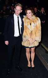 Laurence Fox and  Billie Piper  arriving at the London Evening Standard Theatre Awards in London, Sunday, 17th November 2013. Picture by Nils Jorgensen / i-Images