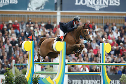 Williams Guy, (GBR), Titus<br /> Furusiyya FEI Nations Cup presented by Longines<br /> Longines Jumping International de La Baule 2015<br /> © Hippo Foto - Dirk Caremans<br /> 15/05/15