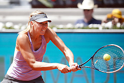 10.05.2014, Caja Magica, Madrid, ESP, WTA Tour, Madrid Open, im Bild Russian tennis player Maria Sharapova // Russian tennis player Maria Sharapova during the Madrid Open of WTA Tour at the Caja Magica in Madrid, Spain on 2014/05/10. EXPA Pictures © 2014, PhotoCredit: EXPA/ Alterphotos/ Victor Blanco<br /> <br /> *****ATTENTION - OUT of ESP, SUI*****