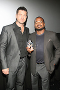 l to r: Gerad Butler and F.Gary Gray at The 13th Annual UrbanWorld Film Festival Premiere of ' Law Abiding Citizen'  held at AMC 34th Street on September 23, 2009 in New York City