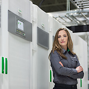 Schneider Electric employee portrait.
