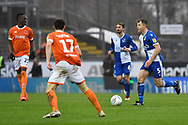 Tony Craig (5) of Bristol Rovers on the attack during the EFL Sky Bet League 1 match between Bristol Rovers and Blackpool at the Memorial Stadium, Bristol, England on 15 February 2020.