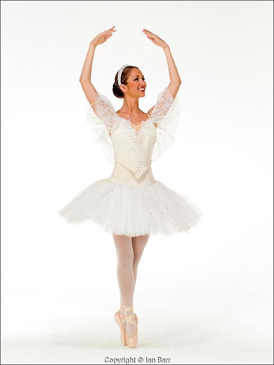 portrait of dancer for Ft Lauderdale children's ballet