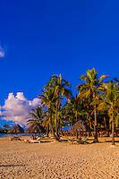Beach, Four Seasons Resort Bora Bora, Motu Tehotu, Bora Bora, French Polynesia.