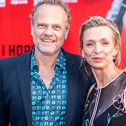NLD/Amsterdam/20170814 - Premiere The Hitmans Bodyguard, Tine Joustra en .................