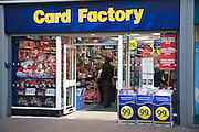Card Factory shop, Ipswich