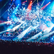Muse performing live at the Rock A Field festival in Roeser, Luxembourg on July 5, 2015