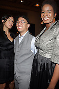 l to r: Christine Paljushj,Kevin Leong and Tange Murray at ' The Celebrating Fashion ' A Gala Benefit to support the Gordon Parks Foundation held at Gotham Hall on June 2, 2009 in New York City. ..The Gordon Parks Foundation-- created to preserve the work of groundbreaking African American Photographer and honor others who have dedicated their lives to the Arts--presents the Gordon Parks Award to four Artists who embody the principals Parks championed in his life.