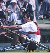 Henley, England,  GER M1X, Andre WILLMS  competing in the Diamond Challenge Sculls at the 1994  Henley Royal Regatta, Henley Reach, River Thames Oxfordshire  GER M1X, Andre WILLMS <br /> <br /> <br /> [Mandatory Credit; Peter Spurrier/Intersport-images]