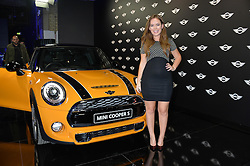 Monday 18th November 2013 saw a host of London hipsters, social faces and celebrities, gather together for the much-anticipated World Premiere of the brand new MINI.<br /> Attendees were among the very first in the world to see and experience the new MINI, exclusively revealed to guests during the party. Taking place in the iconic London venue of the Old Sorting Office, 21-31 New Oxford Street, London guests enjoyed a DJ set from Little Dragon, before enjoying an exciting live performance from British band Fenech-Soler.<br /> Picture Shows:-TANYA BURR