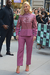 Iggy Azalea leaves the AOL building in a stylish suit. 21 Aug 2018 Pictured: Iggy. Photo credit: MEGA TheMegaAgency.com +1 888 505 6342