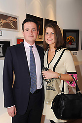 LEO & ARABELLA HAMBRO at a private view of artist Georgina Barclay's work entitled 'Loves & Curiosities' held at the Air Gallery, Dover Street, London on 17th November 2009