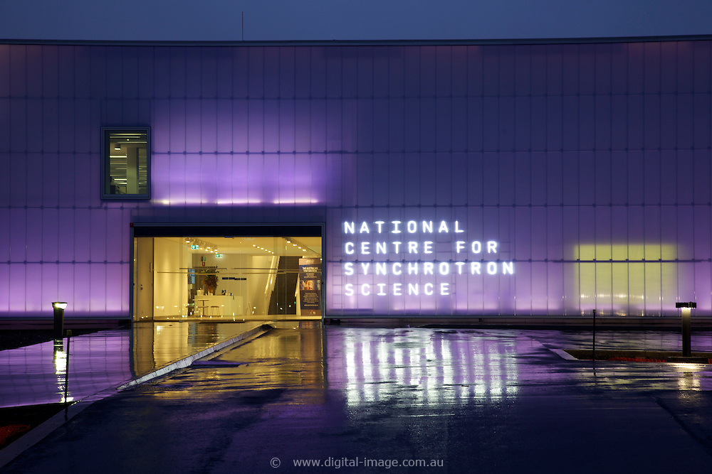 Exterior view of the National Centre for Synchrotron Science, NCSS, Building at the Australian Synchrotron